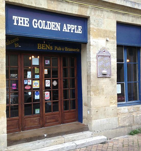 Golden apple, votre pub anglais au centre de Bordeaux